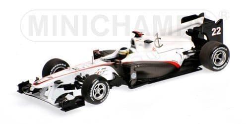 MINICHAMPS 410 100122 - Sauber C29 Ger10 - De La Rosa(40yrs)